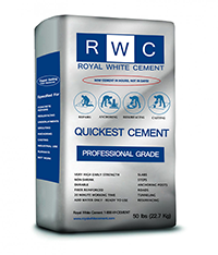 Royal White Cement Quickest Cement